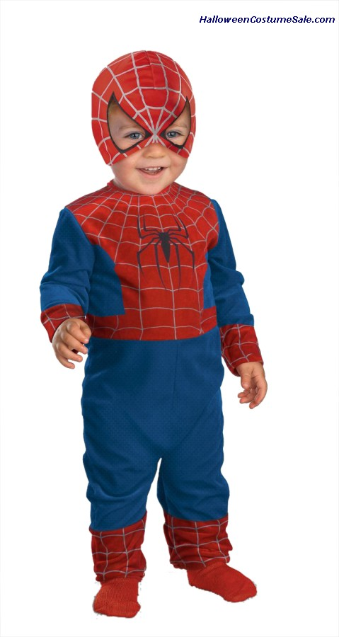 QUALITY SPIDER MAN TODDLER COSTUME