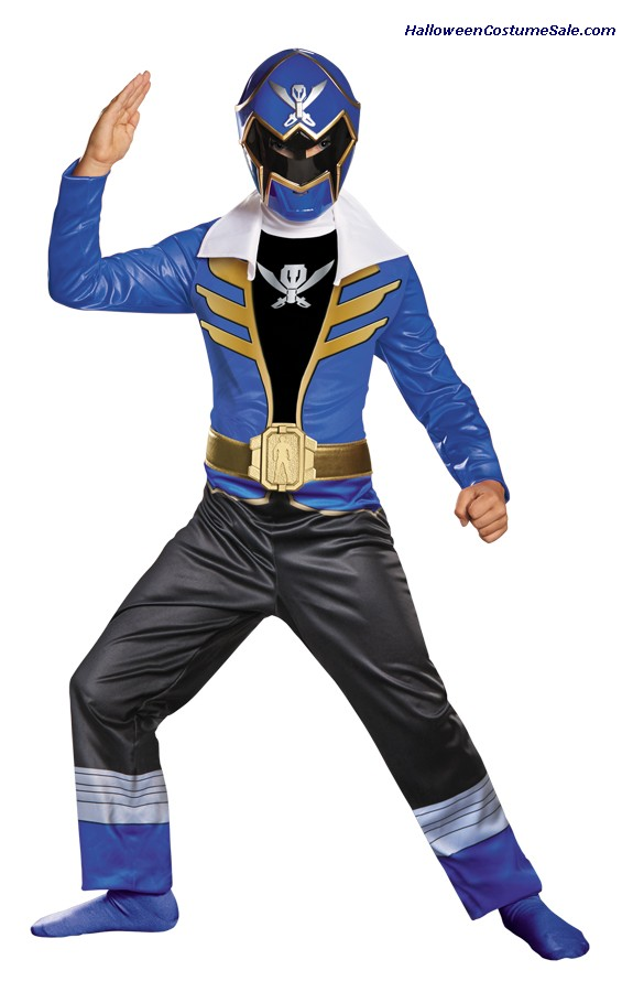 BLUE RANGER SUPERMEGA CLASSIC CHILD COSTUME