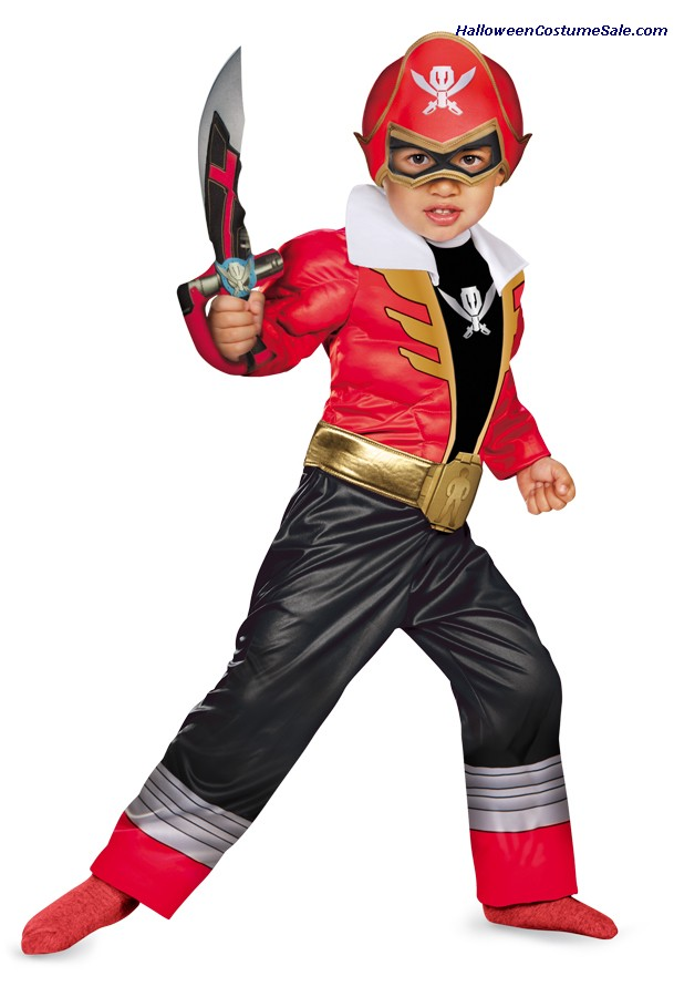 RED RANGER SUPERMEGA TODDLER COSTUME