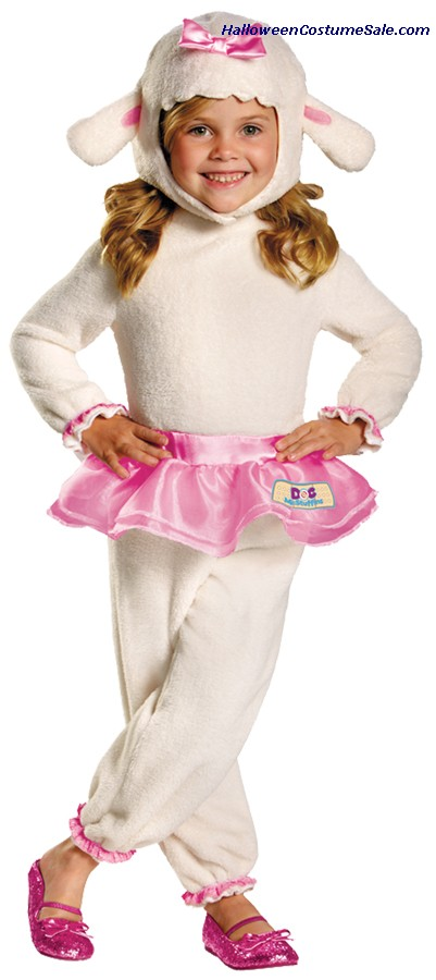 LAMBIE DOC MCSTUFFINS TODDLER COSTUME