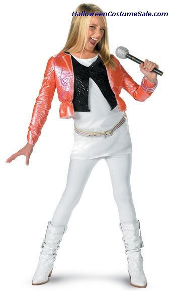 HANNAH MONTANA CHILD COSTUME WITH JACKET