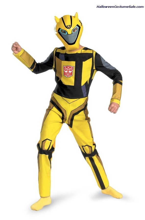 TRANSFORMER BUMBLEBEE CHILD COSTUME