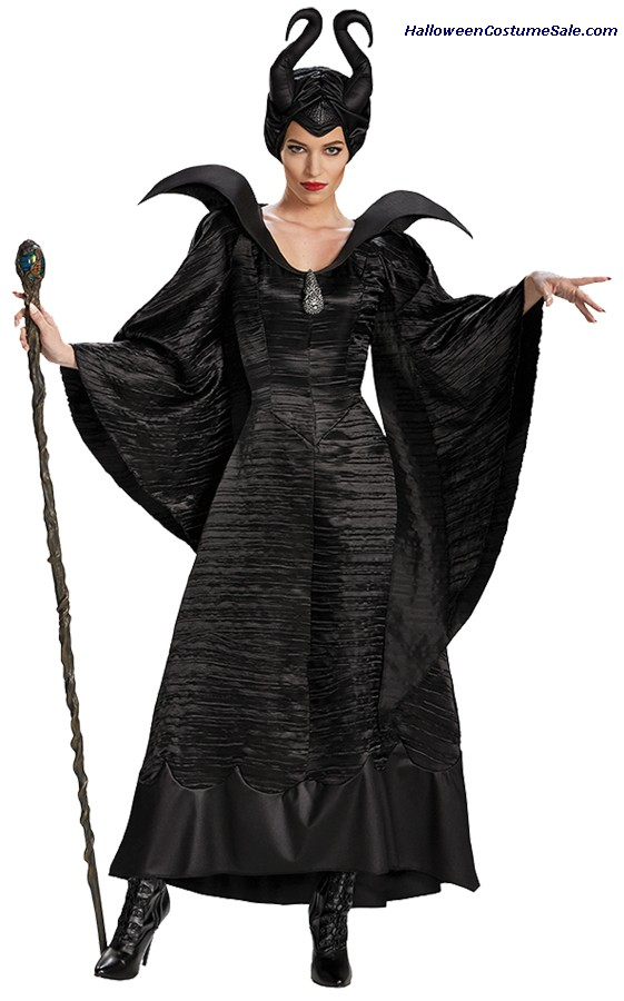MALEFICENT CHRISTENING ADULT COSTUME