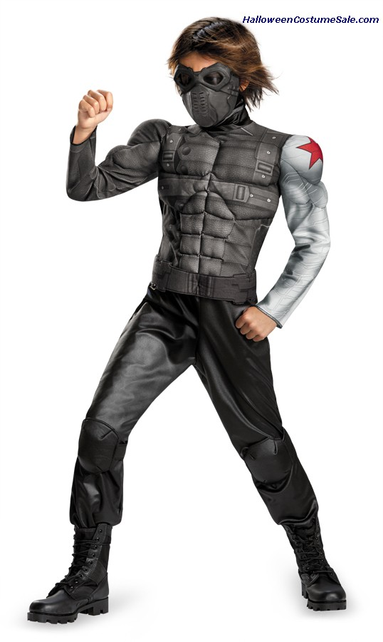 WINTER SOLDIER MUSCLE CHILD COSTUME