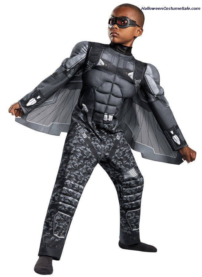 FALCON CLASSIC MUSCLE CHILD COSTUME