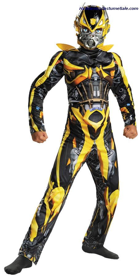 BUMBLEBEE CLASSIC MUSCLE CHILD COSTUME