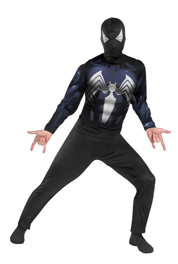 SPIDERMAN BLACK SUITED PLUS SIZE ADULT COSTUME