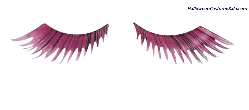EYELASHES FEATHER PINK