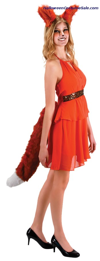 OVERSIZED ADULT FOX EARS