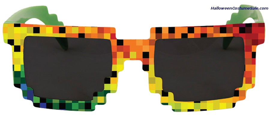 PIXEL RAINBOW GLASSES