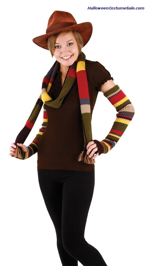 4TH DOCTOR ADULT ARM WARMERS