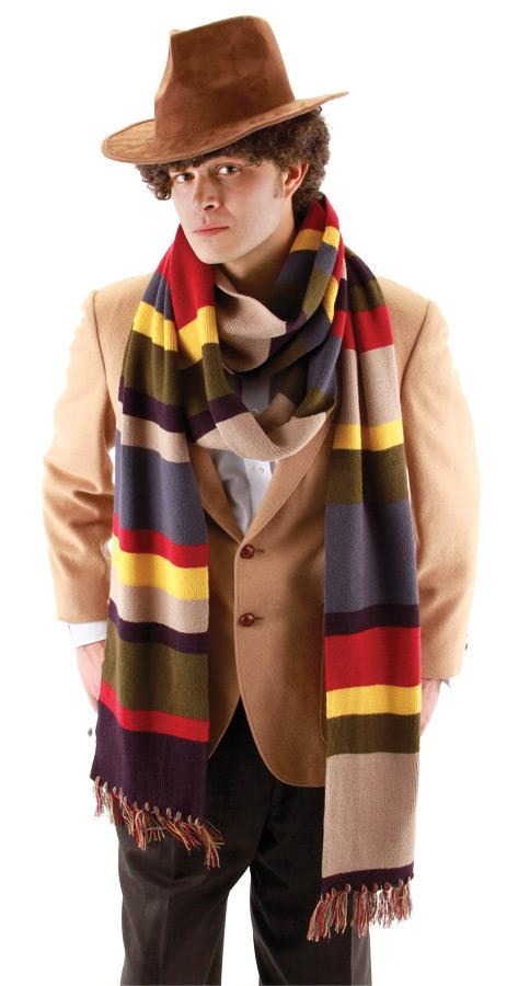 4TH DOCTOR DELUXE  LONG SCARF