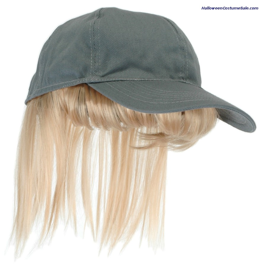 BASEBALL HAT WITH BANGS