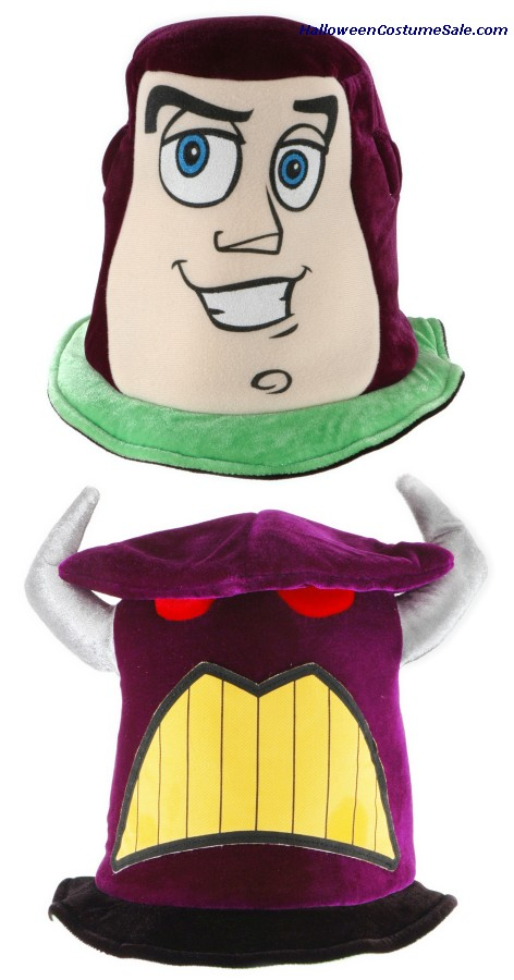 TOY STORY REVERSIBLE BUZZ/ZURG HAT