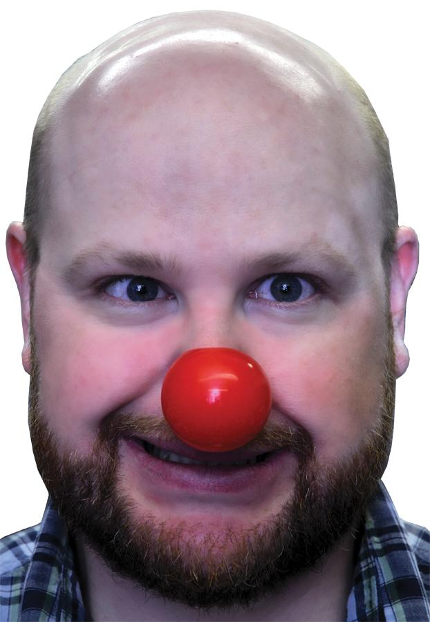 CLOWN NOSE PLASTIC