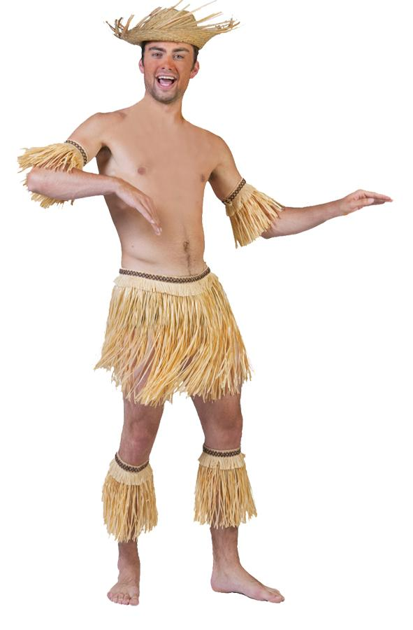 NATIVE SET 5 PC ADULT COSTUME