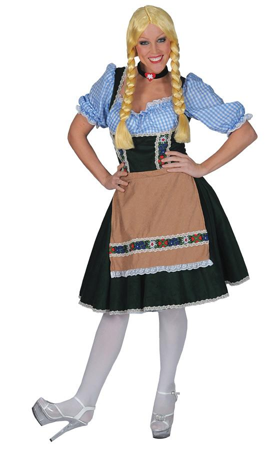 SALZBERG DRESS WITH SHIRT ADULT COSTUME