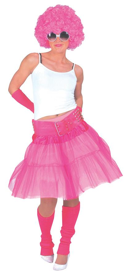 MATERIAL GIRL SKIRT ADULT SIZE