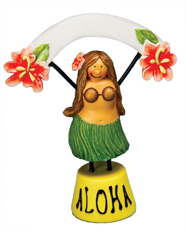 HULA GIRL FOOD /PLACE SETTER