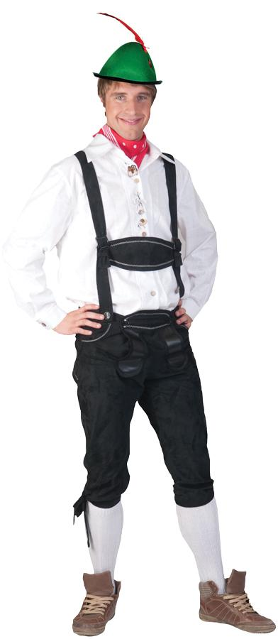 TYROLEAN SHIRT ADULT COSTUME