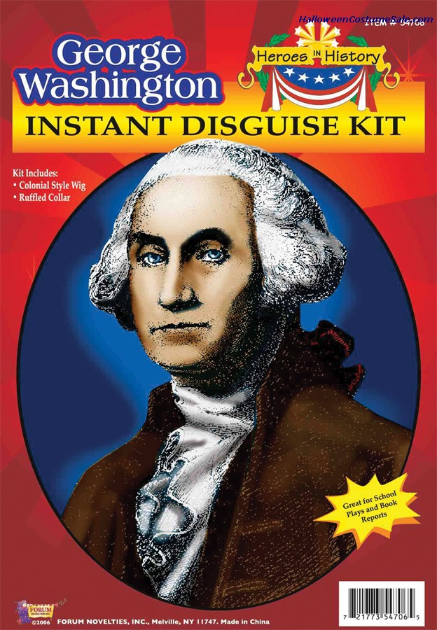 HEROES IN HISTORY GEORGE WASHINGTON KIT