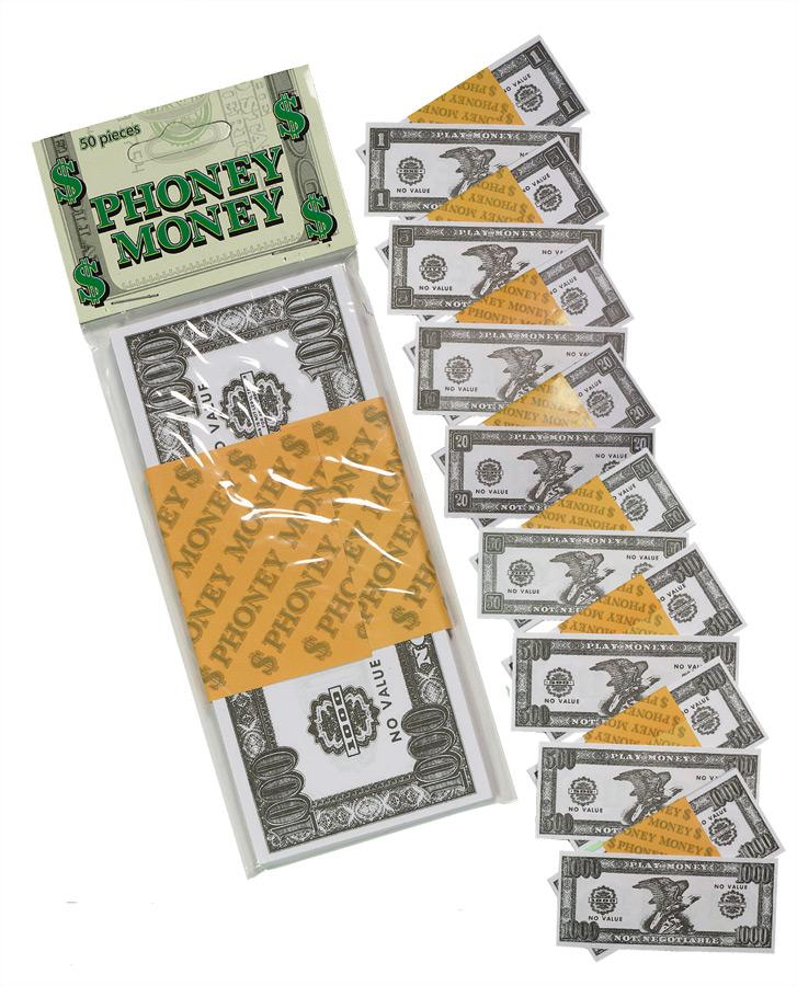 PHONEY MONEY 50  50/PACK