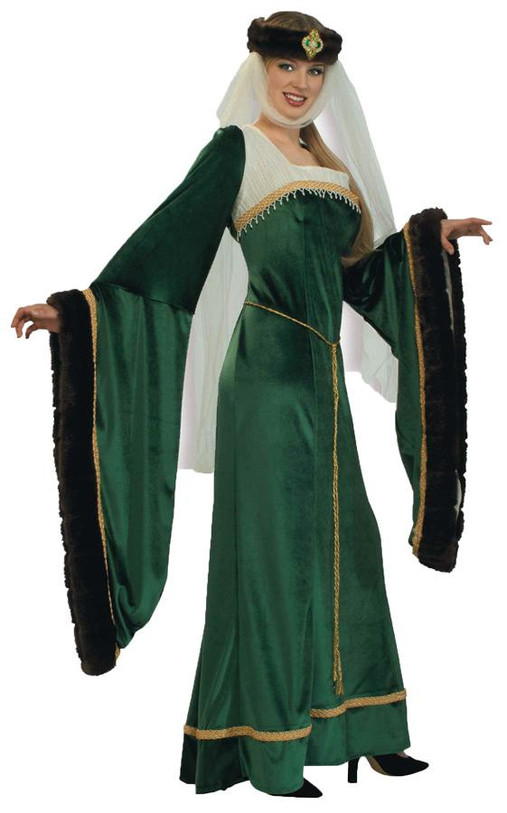 NOBLE LADY  PLUS SIZE ADULT COSTUME