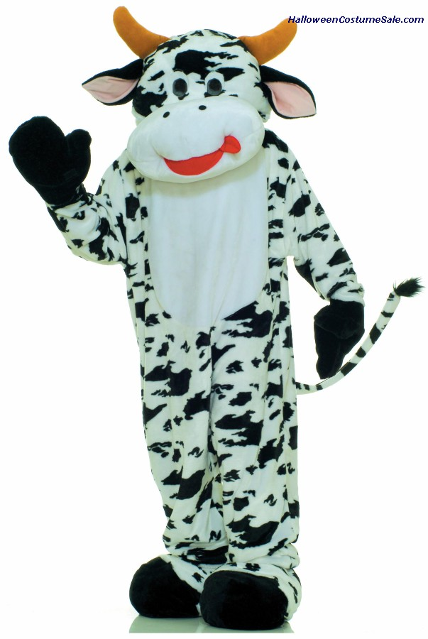 MOO COW ADULT MASCOT COSTUME