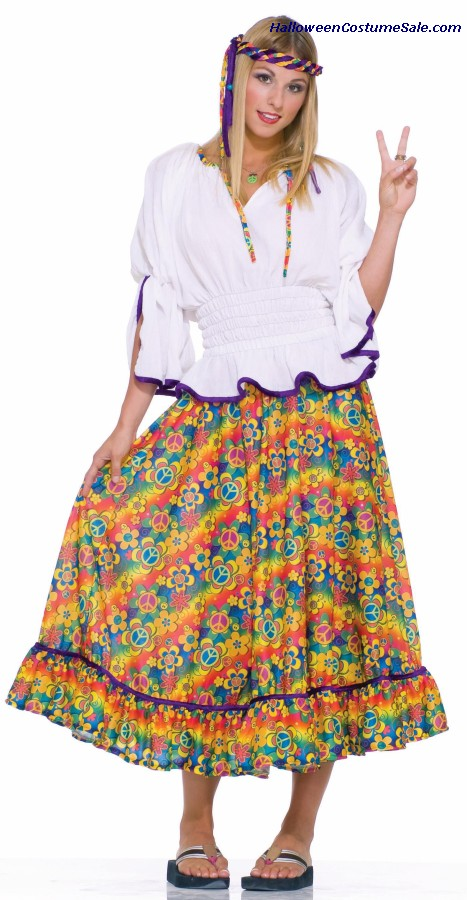 WOODSTOCK GIRL ADULT COSTUME