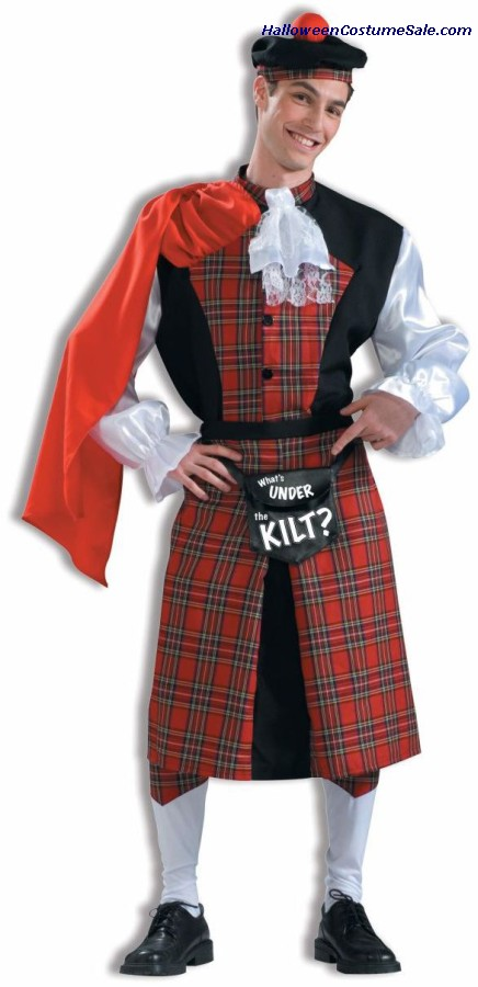 WHATS UNDER THE KILT ADULT COSTUME