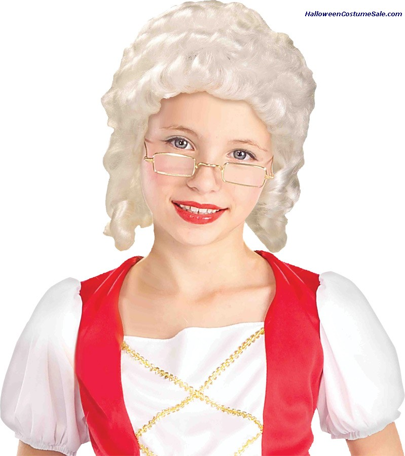 GIRL COLONIAL WIG