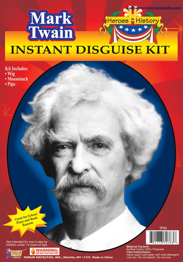 HEROES IN HISTORY MARK TWAIN KIT