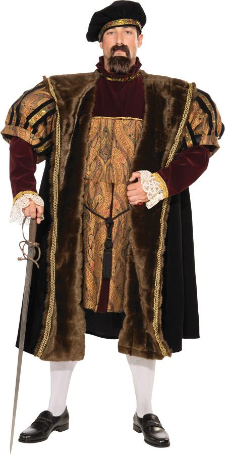HENRY VII PLUS SIZE ADULT COSTUME