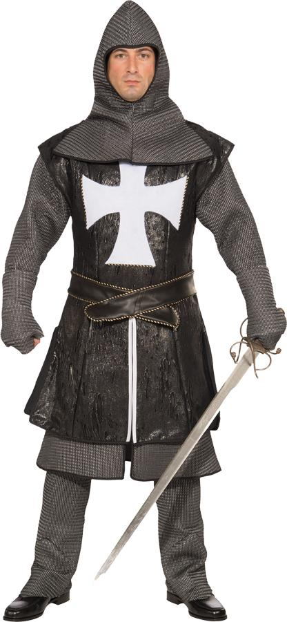 BLACK KNIGHT PLUS SIZE ADULT COSTUME