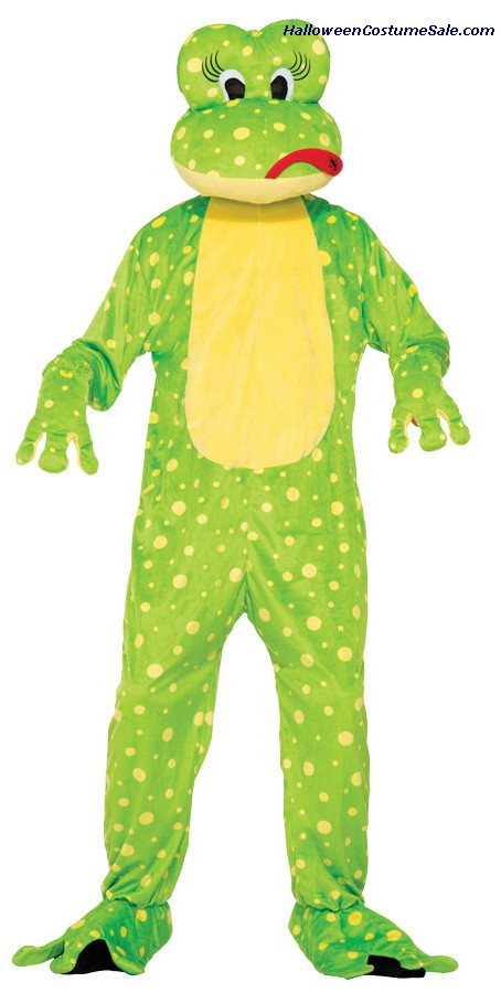 FROG FREDDY THE MASCOT ADULT COSTUME