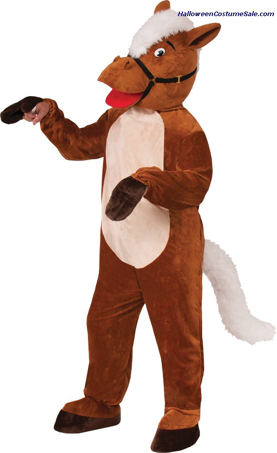 HORSE HENRY THE MASCOT ADULT COSTUME
