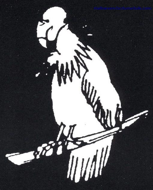 STAINLESS STENCIL VULTURE