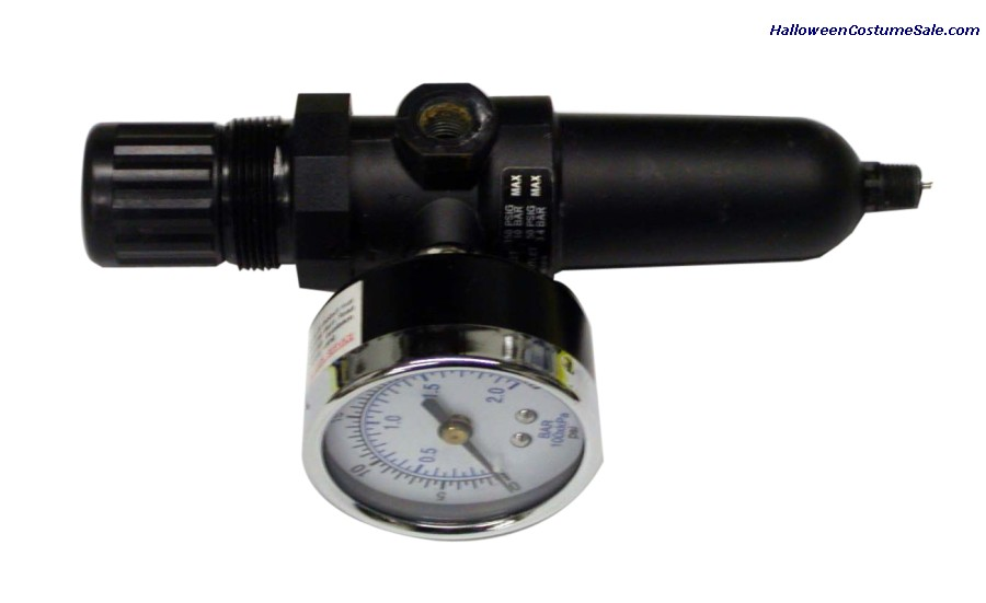 AIR REGULATOR W/FILTER & GAUGE