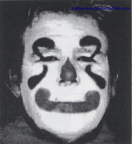 STENCIL KIT - CLOWN WHITE FACE