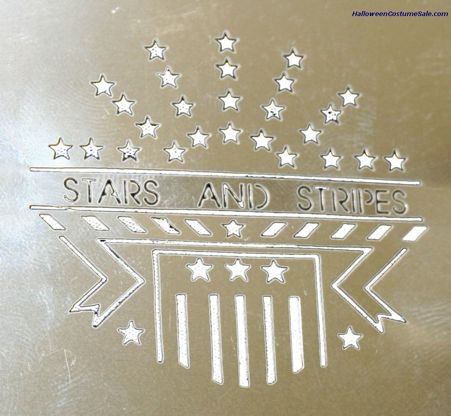 STAINLESS STARS & STRIPES STENCIL
