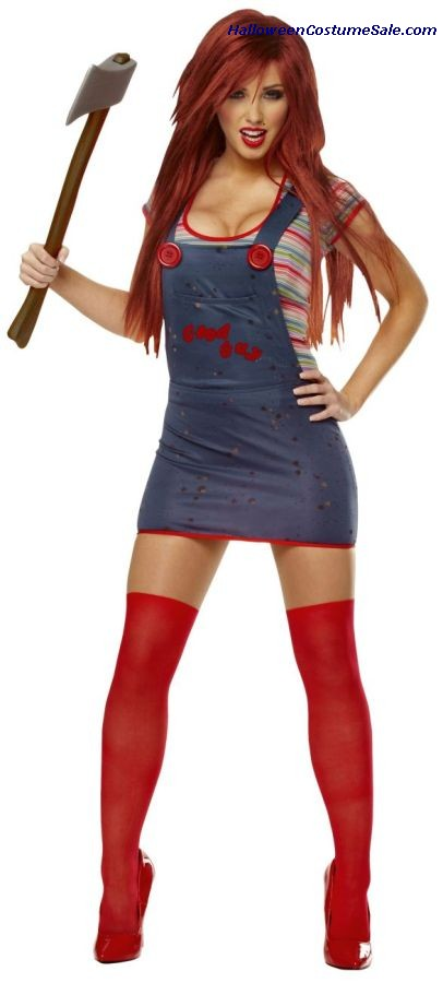 SEXY CHUCKY ADULT COSTUME
