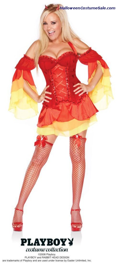 PLAYBOY DEVILICIOUS ADULT COSTUME