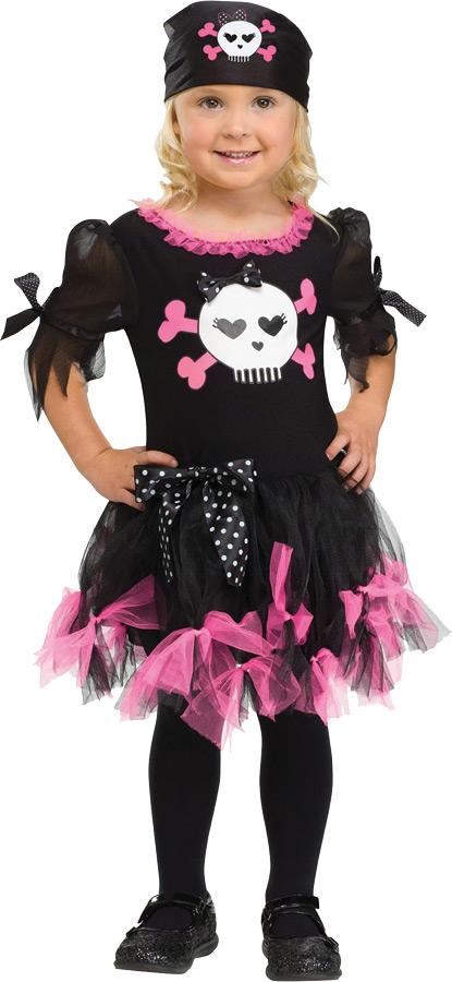 SALLY SKULLY CHILD/TODDLER COSTUME