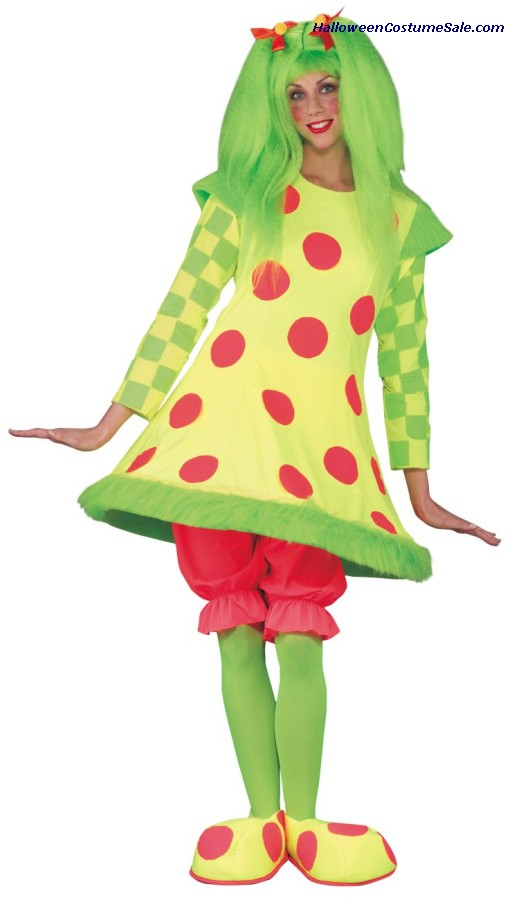 LOLLI THE CLOWN ADULT COSTUME