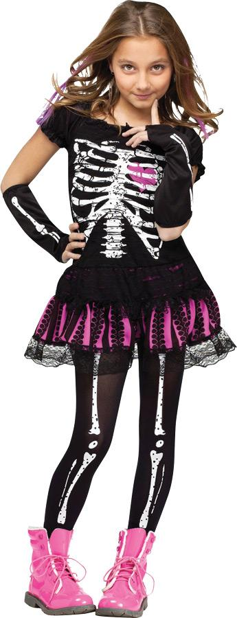 SALLY SKELLY CHILD COSTUME