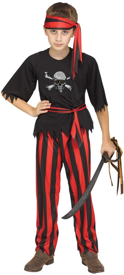 JOLLY ROGER PIRATE CHILD COSTUME