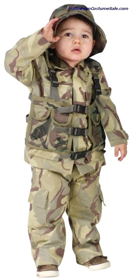 AUTHENTIC DELTA FORCE TODDLER COSTUME