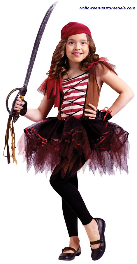 BATARINA PIRATE CHILD COSTUME