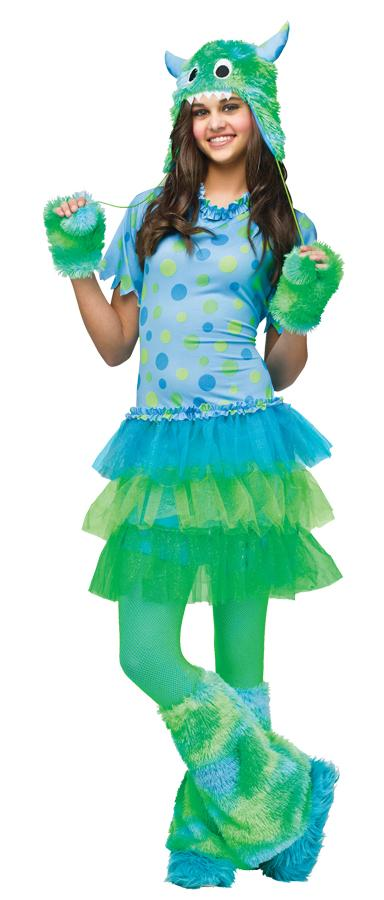 MONSTER MISS TEEN COSTUME