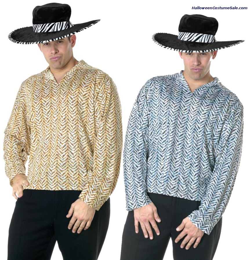 PIMP SHIRT ADULT COSTUME